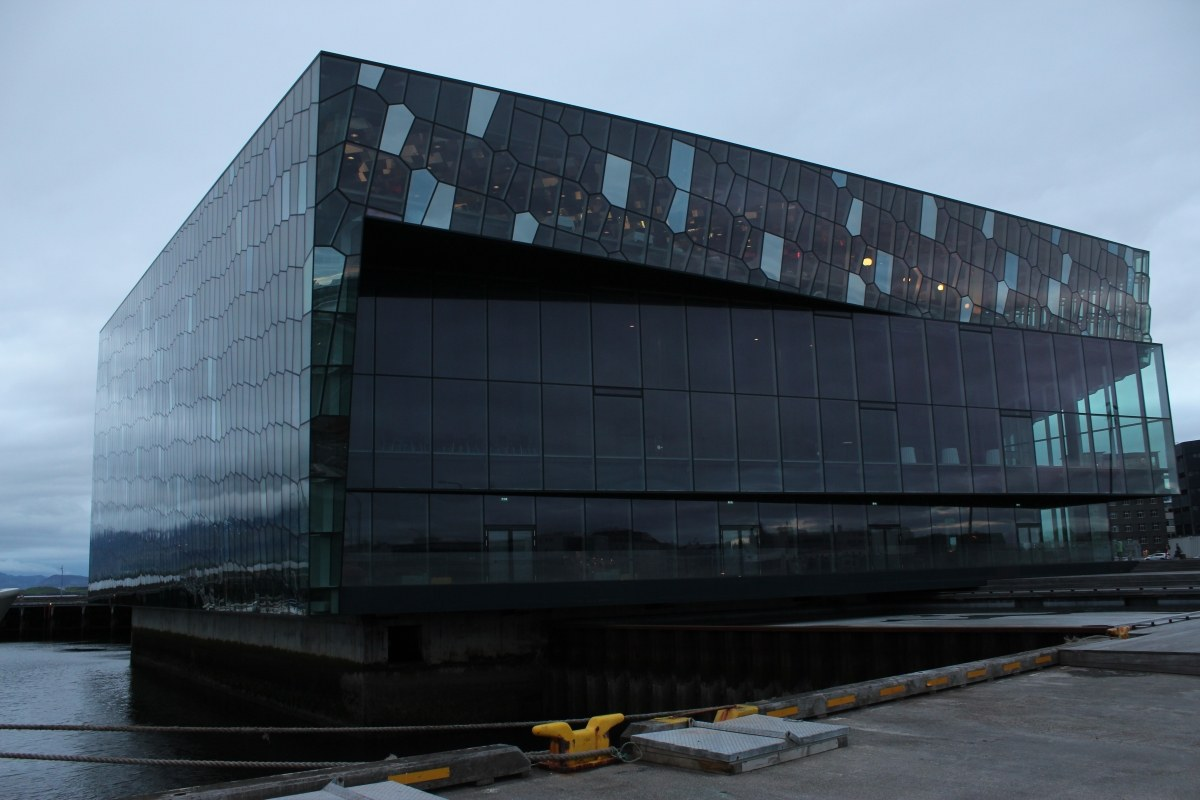 In the beginning was the shell, or Harpa Concert Hall in Reykjavik